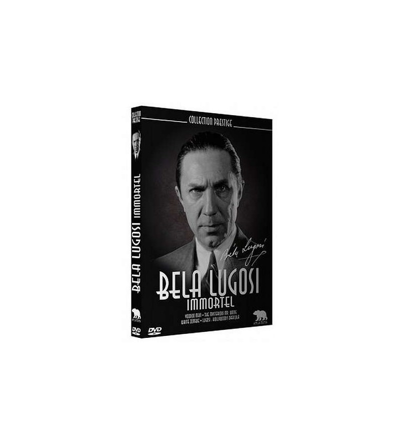 Coffret Bella Lugosi immortel (Voodoo man, The mysterious Mr Wong, White zombie)