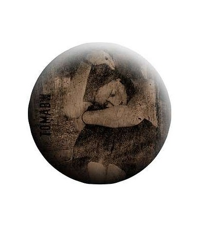 Badge Personnage féminin