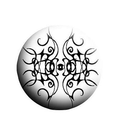 Badge Arabesques noires