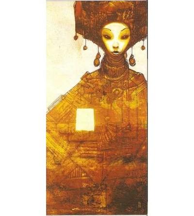 Carte postale Personnage ethnique