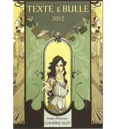 Carte postale Texte & bulle 2012