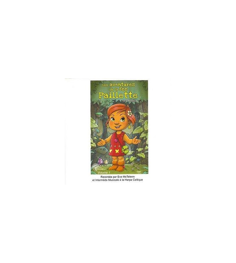 Les aventures de la fée Paillette (CD)